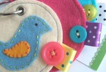 Embroidery and Applique / Sewing Tutorials related to Hand-worked Embroidery and Machine Appliqué