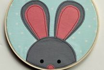 Sewing for Easter / Full of carrots, bunnies and eggs - Easter Sewing Treats
