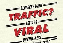 Viral Bloggers Tribe / A Tribe board for bloggers to share their work as well as meet other bloggers! Just a great way for us to share our work with each other!  Want to Join then check out ~~ http://www.brum.pw/viral-tribe