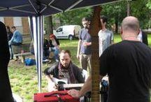 Bisma Music 2013 / Alcuni degli ospiti dello stand di Bedini Custom Guitars. https://www.facebook.com/BediniCustomGuitars  - www.bedinicustomguitars.com