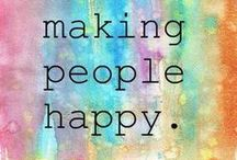 Happiness & Joy / Posts that inspire happiness and joy. Sharing the love.