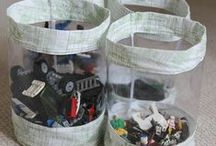 Sewing for Storage / Ideas for things to sew to store toys, lego electronic devices and other household items