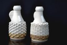 knitted clay | Brei klei / Objects of art. Emulating knitted structures with clay and 3dprinter.