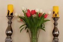 Seizoenen / Sfeer en inspiratie voor DIY decoratie in de winter, lente, zomer en herfst
