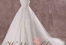 Fairytale Wedding Dresses / Award Winning Custom Wedding Dresses from WeddingDressFantasy.com CoutureDeBride.com. Gothic, Black, Red, and Modest Wedding Dresses Worldwide Shipping