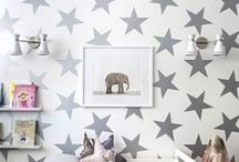 magpies nursery / Everything we love from our shoppe+around the world for baby's room