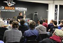 Workshop di setup e manutenzione per basso e chitarra elettrica / 30 ottobre 2014 presso Scuola di Musica Moderna a Ferrara - Acquisizione delle più importanti tecniche di regolazione, pulizia e manutenzione dello strumento.