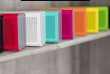 TRULY BEAUTIFUL SOUND / Packed with powerful HD sound and crystal-clear output, the BRAVEN 805 Wireless Speaker perfectly combines style and sound.