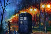 Doctor who! / I'm the doctor, and that's my tardis. I travel through time and space, and can take you wherever you want. / by 😜Sarah L.😜