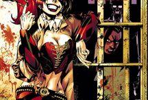 Mister J/Harley Quinn/Suicide Squad