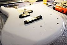 I MIEI LAVORI | 5: Riverniciatura Ibanez Bass / Riverniciatura Ibanez Bass  #bedinicustomguitars #IbanezBass