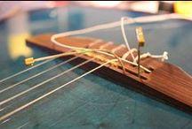 I MIEI LAVORI | 6: Sostituzione sellette Piezo su chitarra Godin / Sostituzione sellette Piezo su chitarra Godin   #bedinicustomguitars #Ferrara #Godin