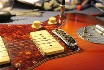 I MIEI LAVORI | 7: Fender Jazzmaster del 1961 / Alcuni lavori eseguiti: Controllo generale elettronica, cambio Jack, setup generale.  #bedinicustomguitars #Ferrara #Fender