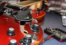 I MIEI LAVORI | 8: Eko Cygnus - Restauro e ripristino elettronica / Vintage 1960's EKO Cygnus model hollowbody electric guitar with Repeat Percussion, Distortion and Treble/Bass Boost effects.  #bedinicustomguitars #Ferrara #EkoCygnus