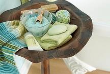 Bathroom* ideas / Bath Room / Powder Room / laundry Room / by Katsue Watanabe