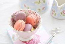 macarons*~Meringue*~  / by Katsue Watanabe
