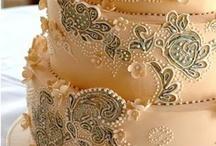 Cake* decoration - Cake* Art / Wedding & Anniversary & Birthday Cake / by Katsue Watanabe