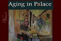 "Aging-in-P A L A C E© / Aging-in-Place? Remodel with quality of life- both indoors and out.  We Boomers prefer Aging-in- PALACE©"" (eBook)  Life is an Art Form created with humor, kindness and clout. We like walkable neighborhoods, natural light, universal design elements  and dismissing aging stereotypes.  MAKE YOUR AGE BEHAVE! Age gracefully and well. Delightful articles hand-written by and for ""Sage Companions"" the INFOeZine where we dismiss aging stereotypes. 5Stars! ***** WhiteHair365.com *****  / by Silvery Sage"