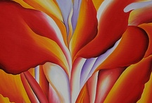Georgia O'Keeffe / Georgia O'Keeffe was a trailblazer in the art world and MyUntangledlife.com loves and respects forward thinking pioneers. Here we follow and share the evolution of Georgia O'Keeffe's artwork. / by MyUntangled® Life