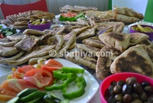 Saj Breakfast - فطور شهية على الصاج / فطورنا اليوم في شهية مجموعة مخبوزات ومعجنات مشهية على الصاج / by shahiya.com شهية