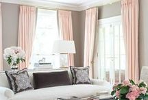 Window Treatments / Window treatment ideas for all kinds of windows and drapery styles / by Elisa Smith