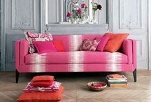 Furniture / bold furniture ideas and examples of different styles and upholsteries / by Elisa Smith