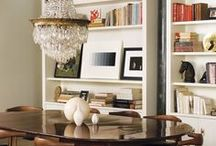 Dining / Dining room ideas, eat in kitchen ideas, and other places one may dine / by Elisa Smith