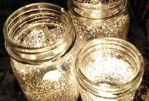 Mason Jar Crafts / We have an obsession with all things Mason Jar. Recipes, crafts, quick fixes for around the house. We love them all! Join us! / by Bonbon Break