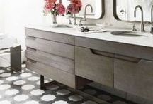 .VANITIES. / BATHROOM INSPIRATION / by Ashley Manhan