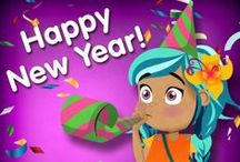 New Year / All things New Year! Help kids learn about new year in different cultures around the world.