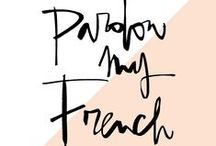 PARDON MY FRENCH / THE OUTNET is proud to sponsor Garance Doré's new podcast 'Pardon My French'. Take a look behind the scenes with her special guests! http://outnet.co/1LopWAo  / by THE OUTNET.COM