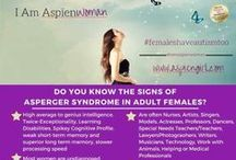 Female aspergers / Could I really have Aspergers? / by Susanne Mackenzie