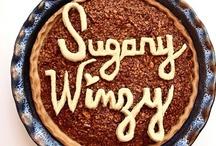 Pecan Pie Tutorial / Pecan pie tutorial at sugarywinzy.com