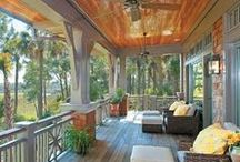 Just Porches! / From Southern plantations to the New England, nothing beats to relaxing feel of a classic front porch.