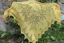 knitting - lace and shawls