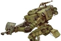 Mech - Large / Mechs that are around tank sized and larger.