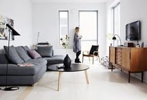 LIVING & DINING ROOM ▲ home / by Anne Delettre