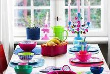 À table / Toutes les jolies astuces pour décorer votre  table et épater vos amis
