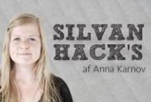 SILVAN Hacks - Anna Karnov / Hacking handler om at skabe noget unikt. At købe en neutral vare og pynte den, forandre den eller ændre dens funktion, og derved få en vare, der viser lige præcis DIN individuelle stil, og hvor DIN personlighed kommer til udtryk i din indretning i hjemmet. (læs mere her: http://www.silvan.dk/inspiration/silvan-hacks)