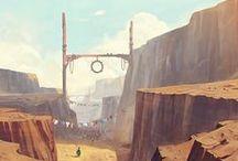 Concept Art - Environment / Worlds Maaaaaaaan