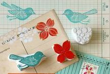 ❤ Embellishments & Stamps / Love, love, love this board.  One can never have enough embellies and stamps.