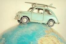 ❤ Vintage Maps, Atlases & Globes