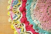 ❤ Vintage Linens, Lace & Doily Love
