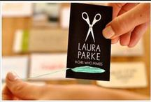 ❤ Business Card Creativity / Business Cards don't have to be boring.  I love designing them.