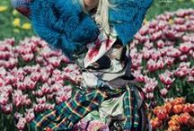 Secret Garden / Fashion editorial inspiration