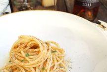 Pasta / Pasta und Fregola von Brundu und Pastasaucen von Conservati Campus