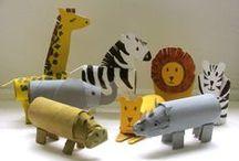Børnevenlige krea ideer / Forslag til kreative ting man kan lave med sit barn.