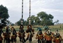Dogon Dancers / These are Dogon dancers in ceremonial dress