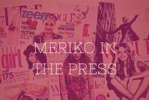 Meriko in the press / Meriko London jewellery pops up in all sorts of unexpected places, and we get so excited every time we see it in magazines, in on-line blogs and on the wrists and fingers of beautiful celebs. Take a look at the latest places we have spotted our pieces…
