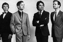 Kraftwerk / German electronic music band formed in 1970 by Ralf Hütter and Florian Schneider.